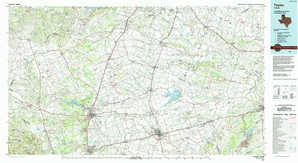 Taylor topographical map