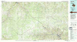 Kerrville topographical map