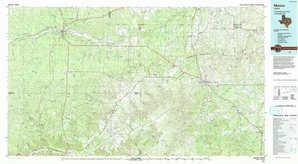 Mason topographical map