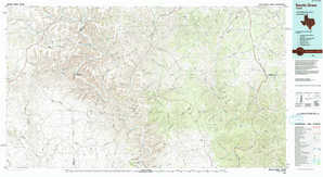 Devils Draw 1:250,000 scale USGS topographic map 30101a1