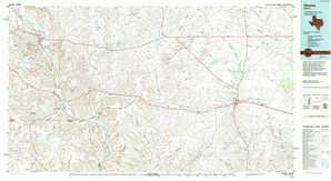Ozona 1:250,000 scale USGS topographic map 30101e1
