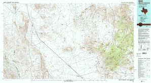 Mount Livermore topographical map