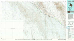 Indian Hot Springs topographical map