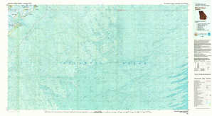 Wassaw Sound topographical map