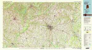 Dothan topographical map