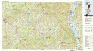 Troy topographical map