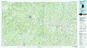 Greenville 1:250,000 scale USGS topographic map 31086e1