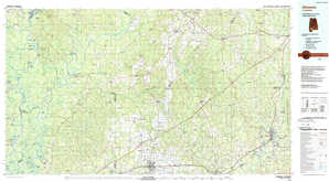 Atmore topographical map