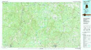 Monroeville 1:250,000 scale USGS topographic map 31087e1