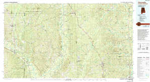 Citronelle topographical map