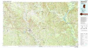 Waynesboro topographical map