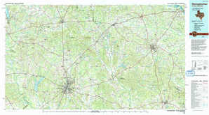 Nacogdoches topographical map