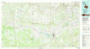 Brady 1:250,000 scale USGS topographic map 31099a1