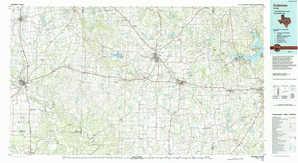 Coleman 1:250,000 scale USGS topographic map 31099e1