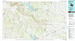 Robert Lee 1:250,000 scale USGS topographic map 31100e1