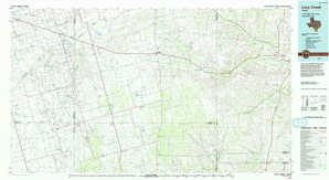 Lacy Creek topographical map