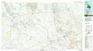 Crane topographical map