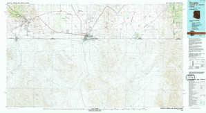 Douglas topographical map