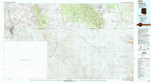 Nogales topographical map