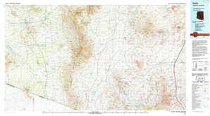 Sells topographical map