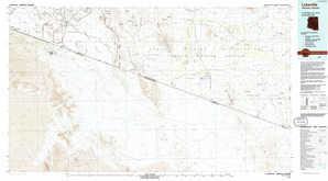 Lukeville 1:250,000 scale USGS topographic map 31112e1