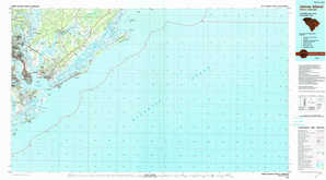 James Island topographical map