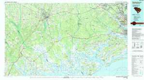 Walterboro topographical map