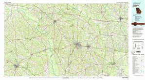 Vidalia topographical map