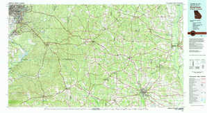 Americus topographical map