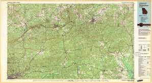 Thomaston topographical map