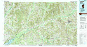 Carthage topographical map