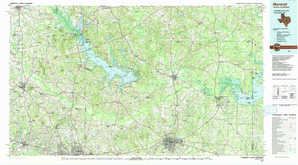 Marshall topographical map