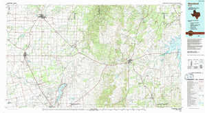 Stamford topographical map