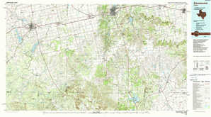Sweetwater topographical map