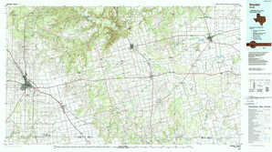 Snyder topographical map