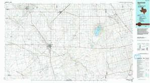 Seminole topographical map
