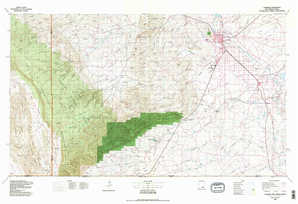 Carlsbad topographical map
