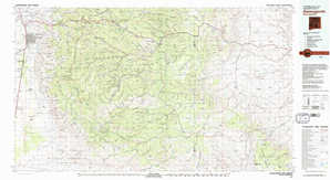Alamogordo topographical map