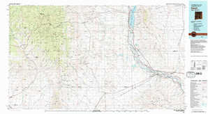 Hatch topographical map