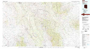 Mammoth topographical map