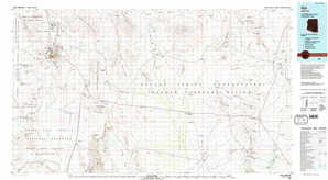 Ajo 1:250,000 scale USGS topographic map 32112a1