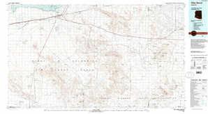 Gila Bend 1:250,000 scale USGS topographic map 32112e1