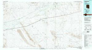 Dateland 1:250,000 scale USGS topographic map 32113e1