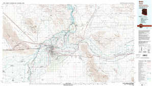 Yuma topographical map