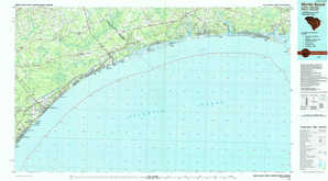Myrtle Beach topographical map