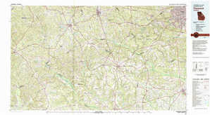 Thomson topographical map