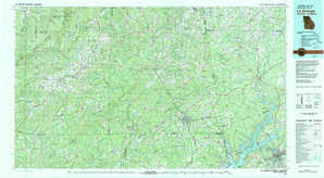 La Grange topographical map