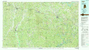 Jasper topographical map