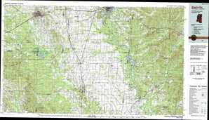 Starkville topographical map