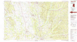 West Point topographical map